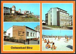 D7760 - TOP Binz Betriebsferienheim VEB Anlagenbau Berlin - Bild Und Heimat Reichenbach - Ruegen