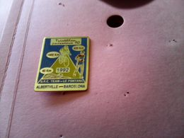 PIN S PINS COURSE TRIATHLON ALBERTVILLE BARCELONA 1992 73 SAVOIE - Other