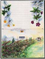 Aland: Intero, Stationery, Entier, Farfalla, Papillon, Butterfly, Fiori, Flowers, Fleurs - Papillons