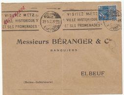 """ESC """"recommandée"""" Mais Non Traité Comme Telle Car Mise à La Boîte  OMEC Metz 1931 - 1921-1960: Modern Tijdperk"""