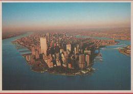 New York. Empire State Building, Citicorp Building And WTC. Non Viaggiata - Manhattan
