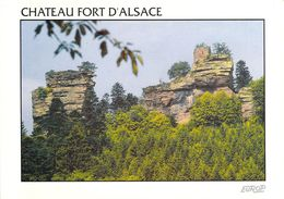 67 - Windstein - Le Château - Vue Lointaine - France