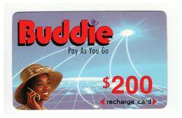 ZIMBABWE - Buddie - Prepaid Card - 200 $ - Cardboard - - Zimbabwe