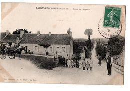 SAINT REMY DES MONTS ROUTE DE MAMERS TRES ANIMEE - Frankreich