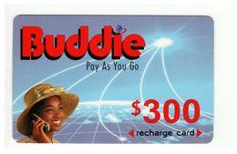 ZIMBABWE - Buddie - Prepaid Card - 300 $ - Cardboard - - Zimbabwe