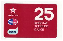 UKRAINE - KYIVSTAR - GSM Prepaid Card - 25 UAH - Cardboard - - Ukraine