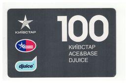 UKRAINE - KYIVSTAR - GSM Prepaid Card - 100 UAH - Cardboard - - Ukraine