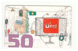 UKRAINE - UTEL - GSM Prepaid Card - 50 UAH - Cardboard - - Ukraine