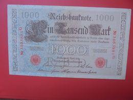 Reichsbanknote 1000 MARK 1910 CACHET ROUGE  (B.15) - 1000 Mark