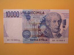 10000 LIRE  VOLTA  - Banconota Fior Di Stampa - [ 2] 1946-… : République