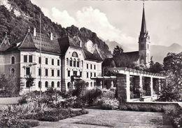 Liechtenstein, Vaduz, Regierungsgebäude Und Kircche, Unused - Liechtenstein