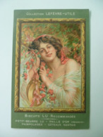 CPA / Carte Postale Ancienne Publicitaire / LEFEVRE-UTILE 1909 Biscuits LU - Advertising