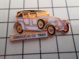 415b Pin's Pins / Rare & Belle Qualité !!! THEME : AUTOMOBILES / SUPERBE RENAULT 40 CV 1926 EN LEGER RELIEF Par CEF - Renault