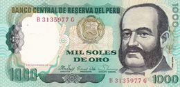 Perou 1000 Soles  1981   Billet  Neuf - Peru