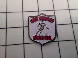 415b Pin's Pins / Rare & Belle Qualité !!! THEME : SPORTS / CLUB FOOTBALL VOUILLET STADE VOUILLETAIS - Football