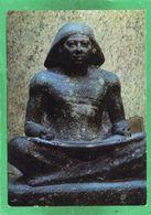 Kunst In Ägypten - Lesender Oder Schreibender -  MUSEUM KAIRO  CPM N° 1581 état Impeccable - Bellas Artes