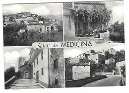 CLA026 - SALUTI DA MEDICINA BOLOGNA 4 VEDUTE 1970 - Other Cities