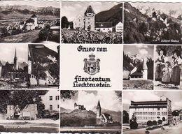 Liechtenstein, Fürstentum, Wappen, Blason, Coat Of Arms, Rathaus, Balzers, Denkmal, Unused - Liechtenstein
