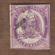 FRANCE  (Y&T) 1868 - Télégraphe:  *Timbre Télégraphe *   * 2f *  Obl. Non Dentelé - Telegramas Y Teléfonos