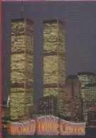New York. Twin Tower Of The World Trade Center At Night. Non Viaggiata - World Trade Center