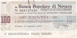 Italie 100 Lires  1977  Ce Billet A Circulé - Italië