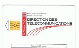 Télécarte Monaco Réf MF31 Utilisée Cote 2 € - ( TBE Voir Les 2 Scans Recto / Verso ) - Mónaco