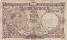 Belgique 20 Francs 1944  Ce Billet A Circulé - Belgium