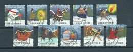 2019 Netherlands Complete Set Christmas,kerst,noël,weihnachten Used/gebruikt/oblitere - 2013-... (Willem-Alexander)