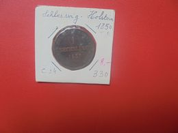 SCHLESWIG-HOLSTEIN 1 SECHSLING 1850 (A.15) - [ 1] …-1871 : Stati Tedeschi