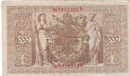 Allemagne 1000  Marks  1910  Ce Billet A Circulé - Germany