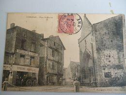 Lusignan Place Du Marché   (tel Quel) - Lusignan