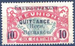 Réunion - Fiscal - ENREGISTREMENT, QUITTANCE. Reçu, DECHARGE - (F1584) - Réunion (1852-1975)