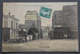 Paris - 1229 - Saint-Mandé - Rue De La Véga - 12è Arrondissement - Bel-Air -Fabrique D'Orgues Gasparini -Gondrv, Ed-1910 - Cafés, Hôtels, Restaurants