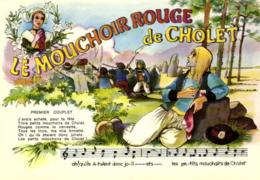 E 1042 - Folklore De Cholet  Chanson  Le Mouchoir Rouge De Cholet (49) Theodore Botrel - Musique