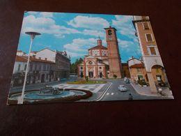 B768  Legnano Piazza San Magno Viaggiata Pieghina Angolo - Legnano