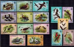 MDB-BK5-233-3 USED ¤ KIRIBATI 1982 16w In Serie ¤ BIRDS OF THE WORLD OISEAUX BIRDS AVES VOGELS VÖGEL - Songbirds & Tree Dwellers