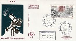 Terres Australes Et Antarctiques Françaises   2001 - FDC
