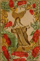 IMMAGINE RIPRODOTTA DI Un Antico Foglio Metà Del 1700  Santa Teresa D'Avila - Religione & Esoterismo
