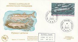 Terres Australes Et Antarctiques Françaises  2000  Poissons - FDC