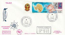 Terres Australes Et Antarctiques Françaises  2000 - FDC