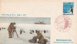Territoires Antarctique   1957 - Timbres
