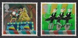 Grande-Bretagne United Kingdom 2002 Yvertn° 2326-2327 *** MNH Cote 3,50 Euro Cept  Europa - 2002