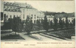 BRUGELETTE : école Normale Et Pensionnat De L'enfant-Jésus : Jardin Potager - Brugelette