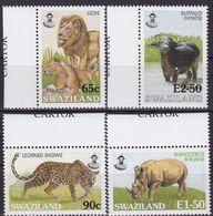 Swaziland, 2000, 698/01,  MNH **, Einheimische Großtiere. Native Large Animals. - Swaziland (1968-...)