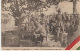 485-Libia-ex Colonia Italiana-II Colonnello Fara Dell' 11°Bersaglieri Scrive Rapporto Su Sciara Sciat-1912x Trecastagni - Libye