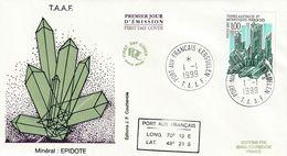 Terres Australes Et Antarctiques Françaises  1999 Minéral Epidote - FDC
