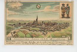 STRASBOURG - ARGENTINA ANNO 1648 - Carte écrite En 1898 - Strasbourg