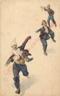 Illustration  De POMPIERS  ( Alerte Au Feu ) - Firemen