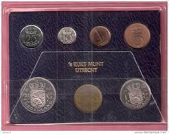 NEDERLAND FDC SET 1980  MET DE ALLERLAATSTE CENT - Pays-Bas