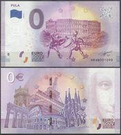 Croatia Hrvatska Pula 0 Euro 2019 Souvenir Banknote - Croatie